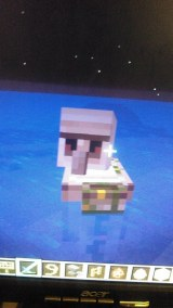 Random iron gollum wandered from land to teh water.